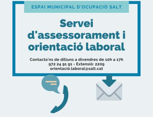 L'Espai Municipal d'Ocupació continua oferint orientació laboral