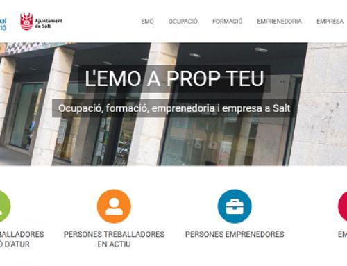 L'Espai Municipal d'Ocupació estrena pàgina web