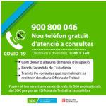 Telèfon de contacte SOC consultes tràmits laborals